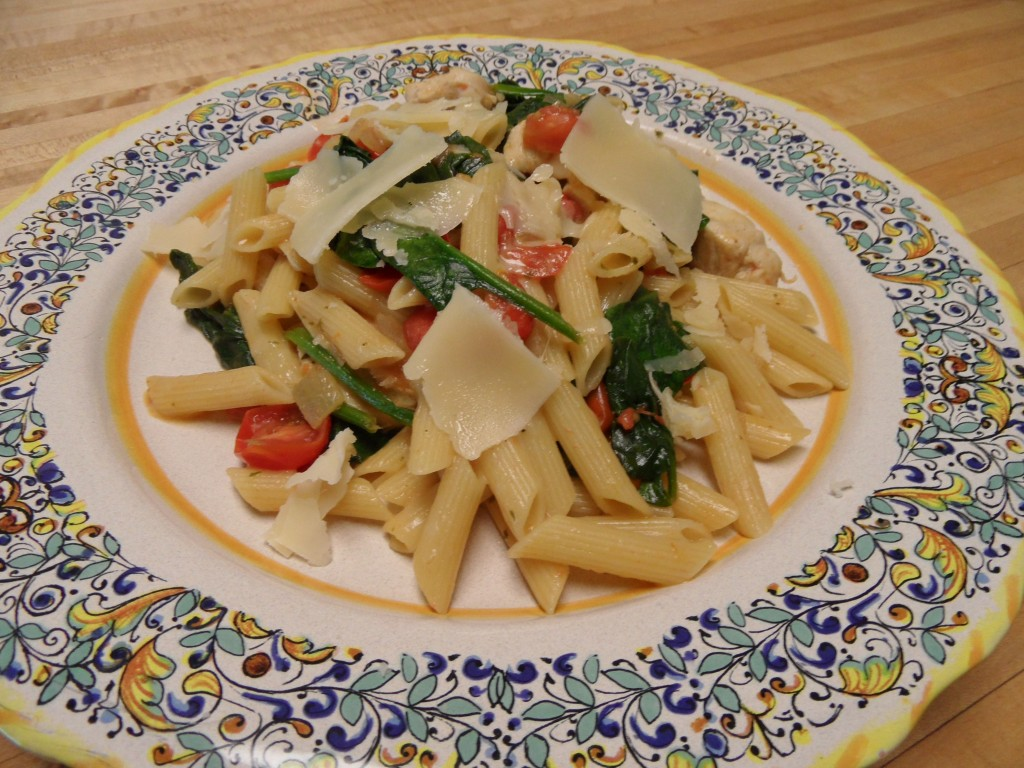 Chicken Florentine Pasta | An Inspired Kitchen