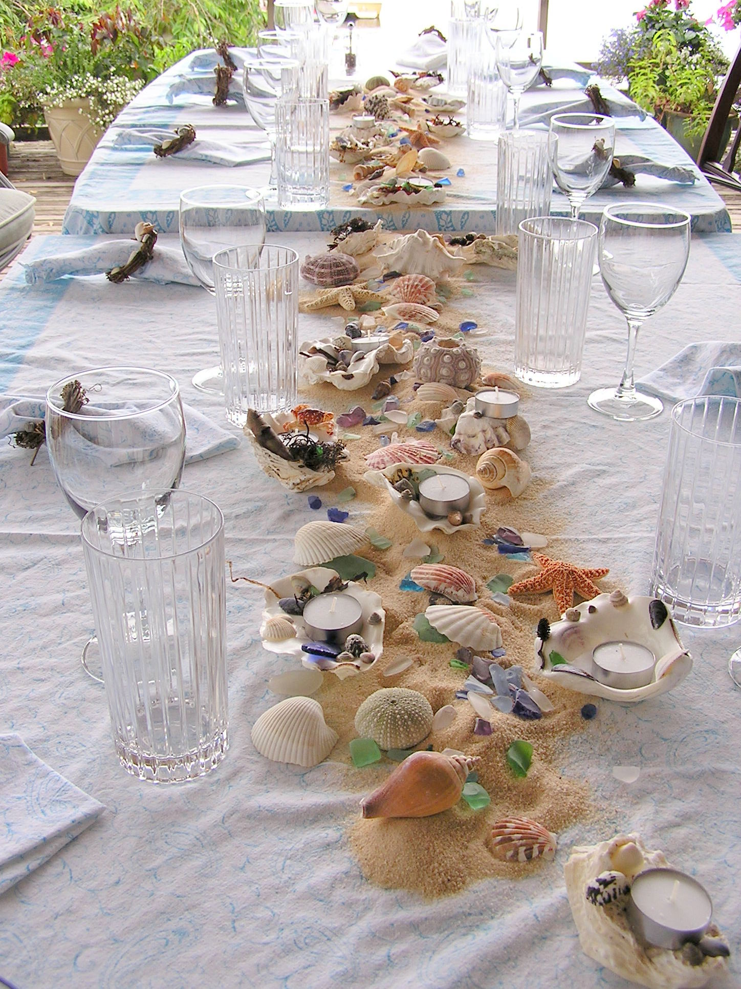 Beach Theme Table Decorations | An Inspired Kitchen
