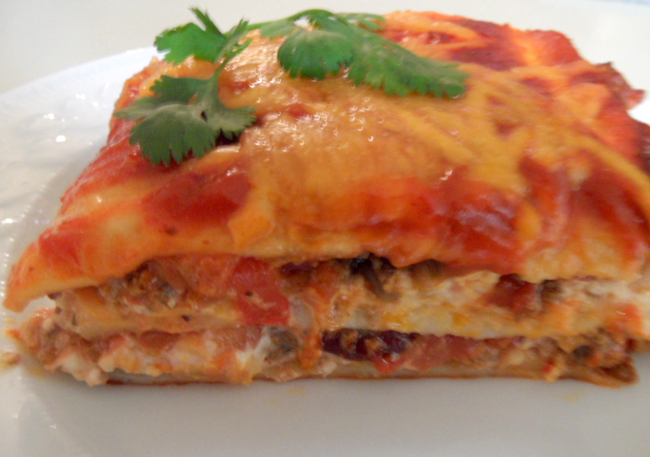 print mexican lasagna ingredients mexican lasagna this casserole ...