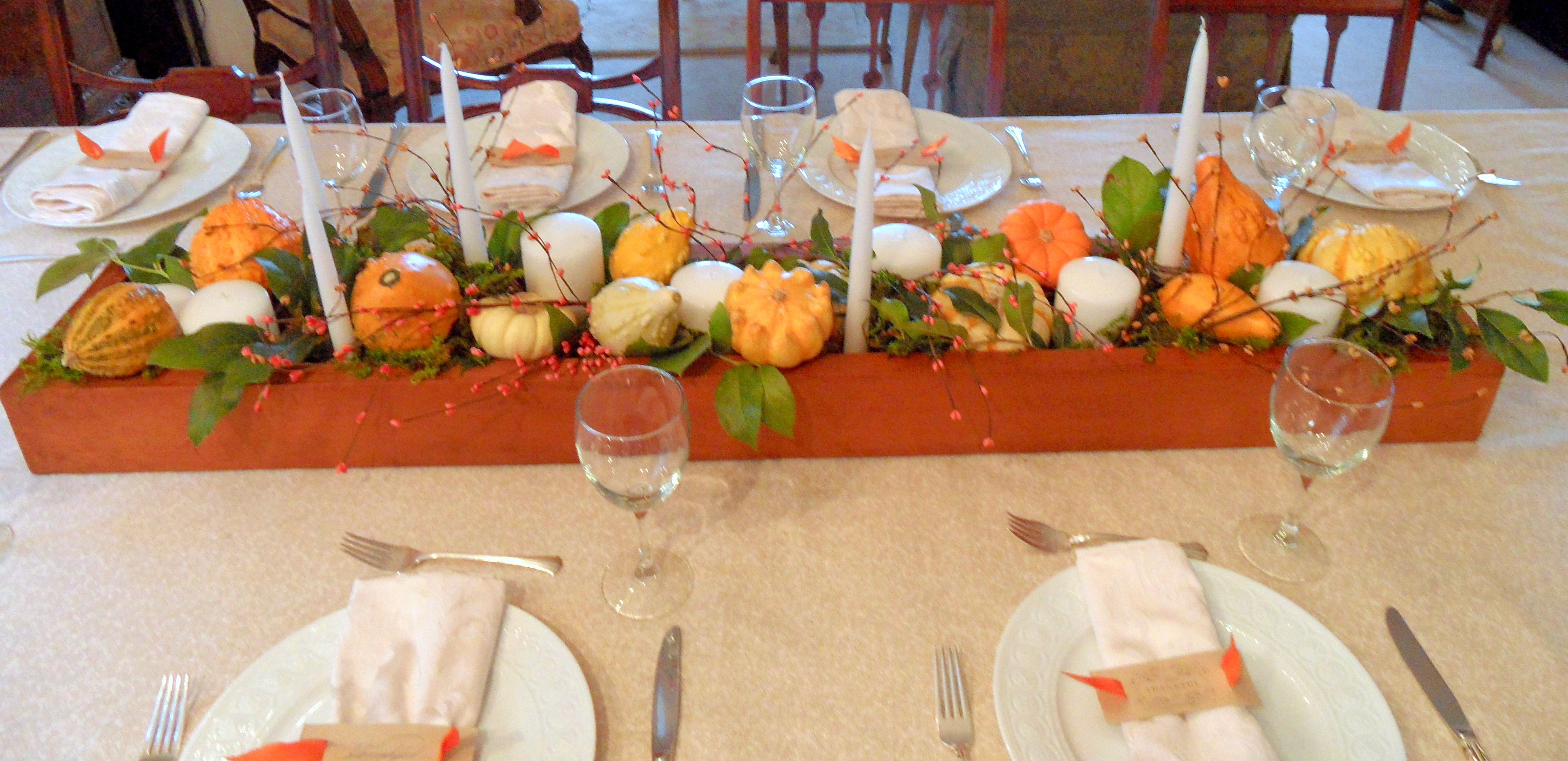 Decorating Ideas > Thanksgiving Table Decorations  An Inspired Kitchen ~ 071759_Thanksgiving Kitchen Decorations